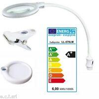 33610975 LL-570LM Lampada laboratorio 30 led lente d'ingrandimento 3 DIOTTRIE