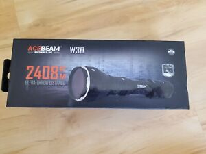 Acebeam W30 6500K LEP Flashlight 500 lumen brand new!