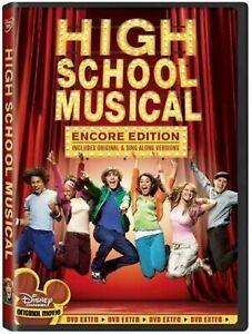 High School Musical Encore Edition DVD Zac Efron Vanessa Hudgens UK Release New