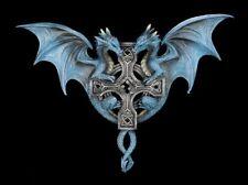 Anne Stokes Dragon Duo Wall Plaque Drachen