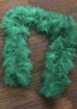 Massive Showgirl Stage Soft feather boa 180g Emerald Green