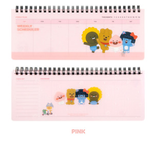 Kakao Friends Little Friends PP Cover Weekly Planner Cute Ryan Character Diary