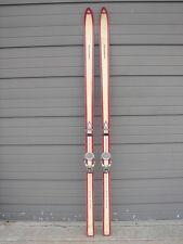 Vintage Kneissl White Star Super RS Fiberglass Skis 200 Marker Rotomat FD