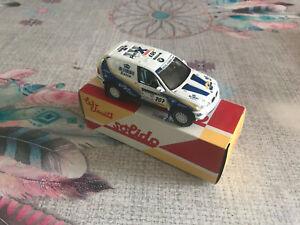 Voiture Miniature BMW X5 Rally Raid 2004 Rallye Dakar Solido Hachette au 1/43