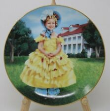 The Danbury Mint Shirley Temple Collector Plate The Little Colonel Vintage