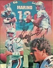 Dan Marino SIGNED AUTOGRAPHED Miami Dolphins 8X10 PHOTO Marino Certified