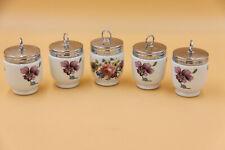 5 Porzellan Eier Kocher - EGG Coddler, Royal Worcester Porcellain GB
