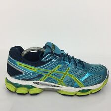 Asics Gel-Cumulus 16 Blue Textile Trainer Sneaker T489N Men UK 7.5 Eur 42.5