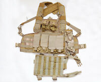 TATTICO CHEST RIG PLATE CARRIER RRV EAGLE INDUSTRIES + LEG PANEL E POUCH