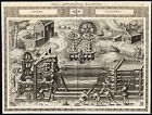 Antique Print-DEVICE-HAULING-PULLEY-GEARS-CLXXXII-Ramelli-Bachot-1588