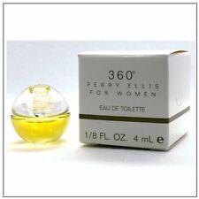 Perry Ellis 360° Eau De Toilette 1/8 Fl oz/4 ML Mini by Perry Ellis 4 WOMEN NIB