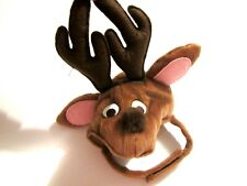 Reindeer Costume One Size Hat Christmas for Cat or Small Dog NEW