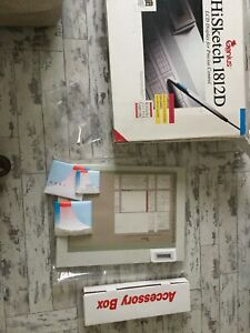 Vintage Computer LCD Display & Software HiSketch 1812D Windows  Auto Cad Boxed