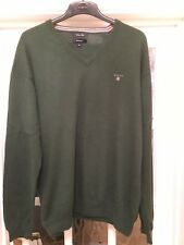 GANT Cotton Men's Green Jumper Sweater Size : 3XL /  XXXL