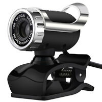 USB 12 Megapixel HD Webcam Web Cam Camera&Microphone Mic For PC Laptop Skype NT