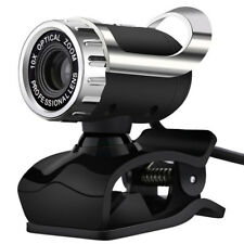 USB 12Megapixel HD Webcam Web Cam Camera & Microphone Mic For PC Laptop Skype MO