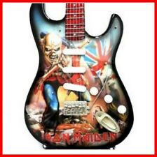 IRON MAIDEN GUITARE MINIATURE EDDIE ! The Trooper D Murray Heavy Metal Hard Rock