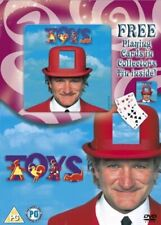 Toys DVD Gift Set with FREE Cards & Collectors Tin. Family/ kids. Robin Williams