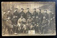 Postkarte Fotographie 1. Weltkrieg 1914/15 rückseitig bezeichnet METZ mobiles Er