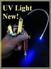 LED Tattoo Black UV Work Light Machine Gun Mount Blacklight
