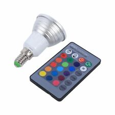 LED 16 Colors Changing Light Bulb with IR Remote Control E14  3W RGB US Seller