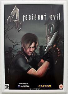 Resident Evil 4 RARE Gamecube 42cm x 59cm Promotional Poster #2