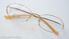 Max Mara Metallbrille tiefer Bügel hochwertige Brillenfassung edel size M