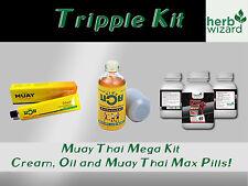 Namman Muay Thai Boxing Oil Liniment Muscular Pain 120cc Mega Kit