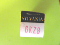 6KZ8 SYLVANIA VINTAGE (TUBE), (NEW IN BOX / NEW OLD STOCK).