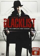 THE BLACKLIST Complete FIRST Season DVD 5-Disc Set NBC Brand New & FREE SHIPPING
