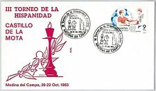 Sport CHESS FOOTBALL  - POSTAL HISTORY - SPAIN: Cover with special postmark 1983