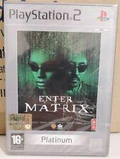 ENTER THE MATRIX PS2 ITALIANO NUOVO SIGILLATO SONY PLAYSTATION 2 PERFETTO