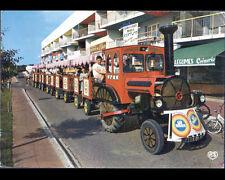 SAINT-JEAN-de-MONTS (85) TRACTEUR PETIT TRAIN , CREPERIE COIFFEUR CREMERIE 1975