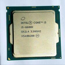 Intel Core i5 6600K 3.5 GHz LGA 1151 Skylake Quad Core CPU Computer Processor