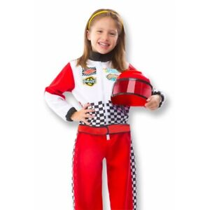 Melissa and Doug - Race Car Driver Costume Set