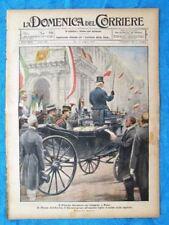 La Domenica del Corriere 31 luglio 1921 Roma - Rolando Ricci - Albert Einstein