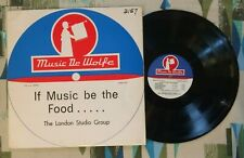 The London Studio Group If Music be the Food 1970 De Wolfe Library Music VG/VG++