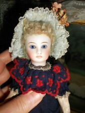 "Antique Sonneberg Belton French 'Jumeau' 8 1/2"" Doll"