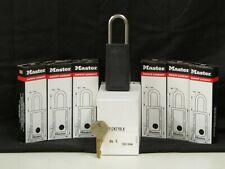 Reduced New Pack Of 6 Master Lock Safety Lockout Padlocks 4112keyblk
