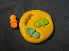 Baby Pacifiers Silicone Push Mold 224 For Resin Clay Candy Fondant Chocolate