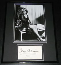 Iris Adrian Leggy Signed Framed 11x14 Photo Display