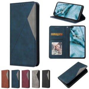 For OnePlus 8 Pro Nord Leather Photo Frame Wallet Card Pocket Flip Case Cover