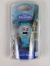 Disney Frozen Olaf Snowman LCD Watch I'm An Expert On Snow New
