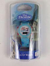 Disney Frozen Olaf Snowman LCD Watch I'm An Expert On Snow New