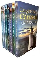 The Rose Trevelyan Series Janie Bolitho 7 Book Set Collection Framed in Cornwall