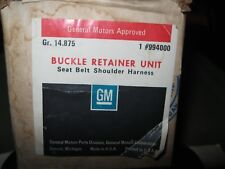 NOS 1970-1971 Chevrolet seat belt and harness retainer kit