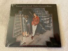 (BRAND NEW SEALED) TOWNES VAN ZANT DELTA MOMMA BLUES DIGIPAK CD