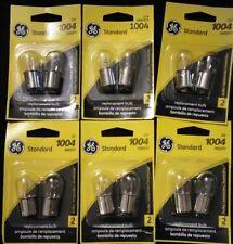 (12) GE 1004 Miniature Lamp Bulb 12w  Dual Contact 12 volt B6 12v Free Ship!!