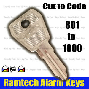 Alarm Panel Key - Fire Isolation Switch - Lorlin  Numbers 801 to 1000 Fast Post!