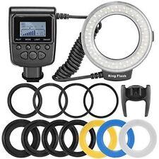 RF-550D 48pcs Macro LED Ring Flash Light for Canon Nikon Olympu 7D 60D Camera